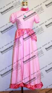 Super MARIO Bros Princess Peach Hime Cosplay Size M