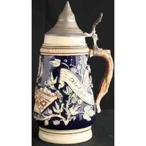 Vintage German Barware Ceramic Beer Stein Artyp Altmeister