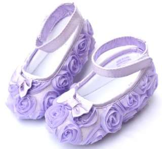 Purple Mary Jane kids toddler baby girl shoes size 2 3 4