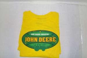 John Deere Eat,Sleep, and Breathe T shirt