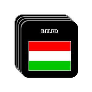 Hungary   BELED Set of 4 Mini Mousepad Coasters