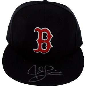 Jed Lowrie Red Sox Black Cap