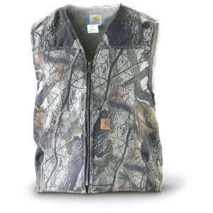 Carhartt Tall Camo Vest Realtree Hardwoods Grey Sports