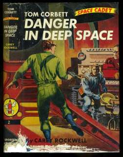 Tom Corbett #2 Danger in Deep Space HB/DJ