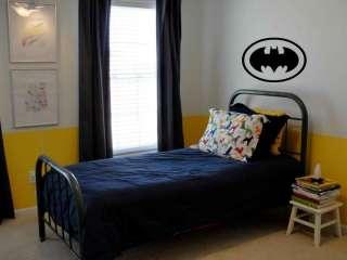 BATMAN Wall Decal kids boys room garage 30 x 24