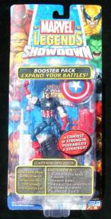 2005 TOY BIZ MARVEL LEGENDS SHOWDOWN CAPTAIN AMERICA