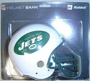 New York Jets Riddell NFL Team Mini Helmet Bank