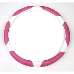 Style w/ Pink Memory Foam Car Truck SUV Steering Wheel Cover   Small