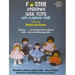 Foster Children Wee Tots Soft Sculpture Dolls Books