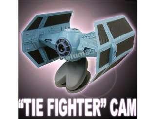 Star Wars TIE FIGHTER USB Web Cam WebCam w/ LED Lights
