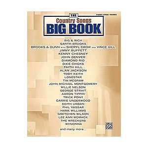 The Country Songs Big Book Musical Instruments