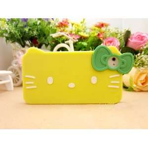 iPhone 4G/4S Hello Kitty Style Big Face Shape Series Bow