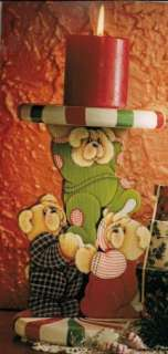 PEPPERMINT PRANKSTERS BY DEBBIE MITCHELL BEARS RARE PAINTING