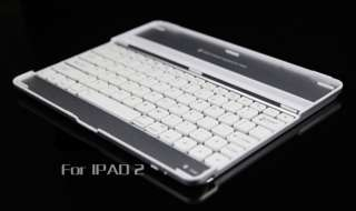New Aluminum Metal Wireless Bluetooth Keyboard Case Cover for Apple