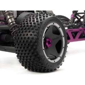 HPI Racing Dirt Buster Block Tire S Cmpnd on Black Wheel