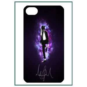 Michael Jackson MJ Pop Star iPhone 4 iPhone4 Black