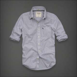 Abercrombie & Fitch Lookout Mountain Mens Classic Dress Shirt NEW