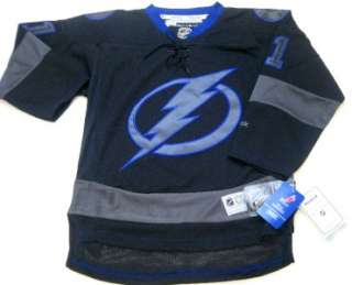 NHL Reebok Tampa Bay Lightning Steven Stamkos Youth Black Ice Premier