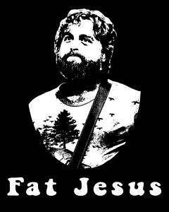 Fat Jesus T Shirt * The Hangover Movie, Funny shirt
