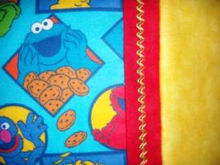 Pillowcase, SESAME STREET ELMO, BERT, ERNIE, BIG BIRD, Standard Sz