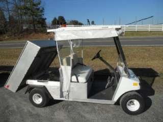CAR CARRYALL 2 GOLF CART CAR 48V WITH DUMP BED ROLL DOWN ENCLOSURES