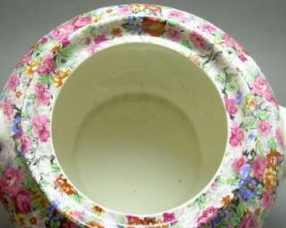 Lord Nelson Ware Marina Chintz Teapot and Cheese Dish