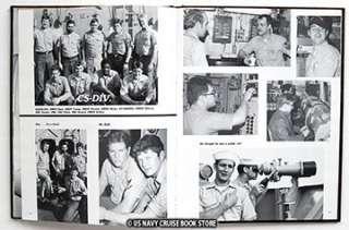 USS INCHON LPH 12 MEDITERRANEAN CRUISE BOOK 1982 1983