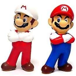 Super Mario Brothers BanPresto Mini PVC Mario Set (Fire Mario Mario