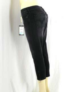 Levis 545 Low Lo Skinny Stretch Black Wash Jeans Petite