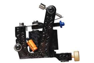 Complete tattoo kit color Inks machines gun equipment power supply