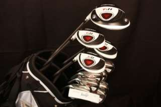 CUSTOM MADE LEFT HANDED GOLF CLUBS DRIVER 3 5 7 WOOD LH TAYLOR FIT
