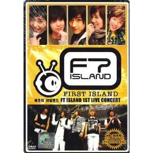 FT Island 1st Live Concert Korean Music Dvd NTSC All FT iSland