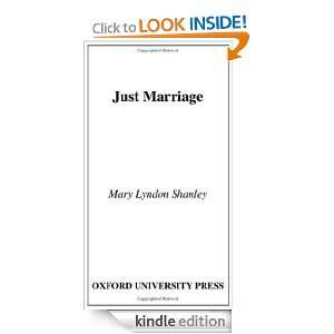 Just Marriage (New Democracy Forum/Boston Review) [Kindle Edition]