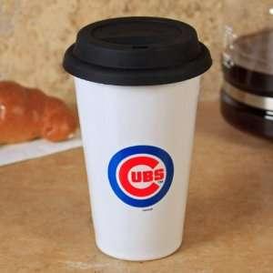 MLB Chicago Cubs 10oz. Ceramic Team Logo Travel Mug