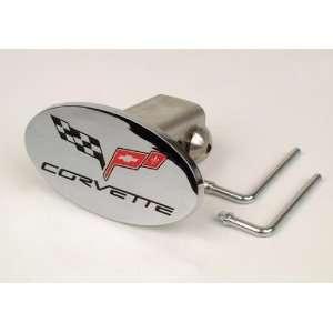 Corvette C6 Emblem Tow Hitch Cover Automotive