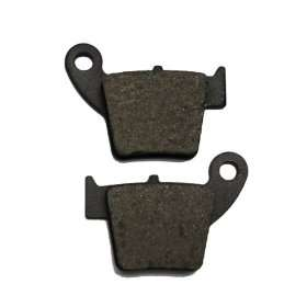 2010 Honda CRF 450 X Kevlar Carbon Rear Brake Pads: Automotive