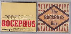 HANK WILLIAMS JR. The Bocephus promo box sampler 6 tracks