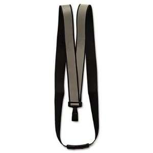 Breakaway Lanyard J Hook Style 36 Long Black 10/Box