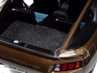 PORSCHE 928 TABAC BROWN METALLIC 118 DIECAST CAR MODEL BY AUTOART