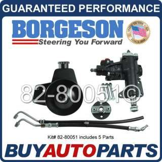 GENUINE BORGESON POWER STEERING CONVERSION KIT FOR 68 70 FORD MUSTANG