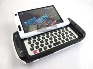 WHITE Rubberized Hard Shell Case Tmobile Sidekick 4G