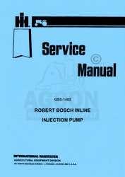 farmall international robert bosch inline injection pump diesel engine