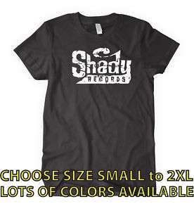 SHADY RECORDS T shirt rap hip hop eminem CHOOSE SIZE