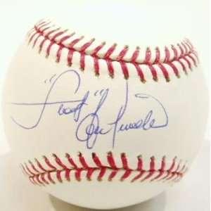 Piniella Signed MLB Baseball w/Sweet