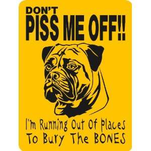BULLMASTIFF DOG SIGN ALUMINUM Everything Else