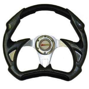 SuperATV SW120 BLACK/SWA JD SW120 Steering Wheel Black 14