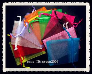 Organza Jewellery Xmas Holidays Cards Party Supply Gift Wrap Gift Bags