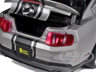 2012 SHELBY MUSTANG GT500 SUPER SNAKE GRAY W/BLAK 1/18 SHELBY