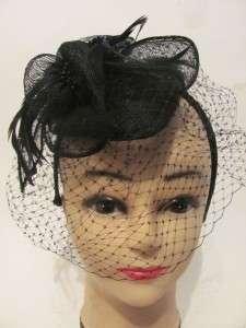 Dress Black Church Wedding Bridesmaids Kentucky Derby Hat