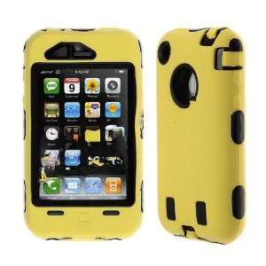 Premium   Apple iPhone 3G/ 3GS Skin with Cover Solid Yellow